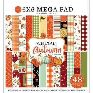 "Mega Pad 6x6"" Carta Bella Welcome Autumn Cardmakers"
