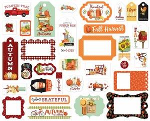 Die Cuts Carta Bella Welcome Autumn Frames & Tags