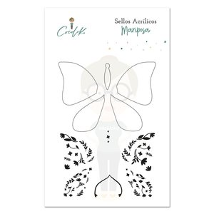 Set de Sellos Cocoloko Mariposa