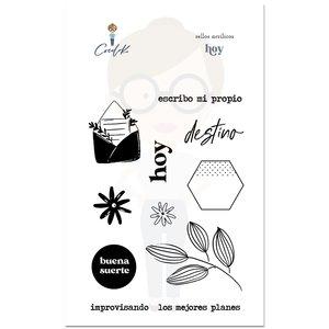 Set de sellos Hoy Cocoloko Picnic