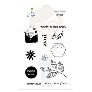 Set de sellos Avui Cocoloko Picnic Catalán