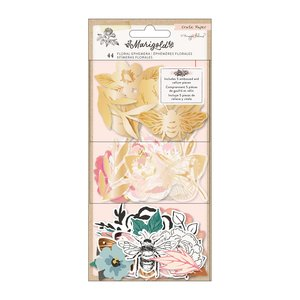 Die Cuts cartulina y vellum Marigold Floral