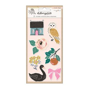 Pegatinas puffy con relieves Marigold by Maggie Holmes