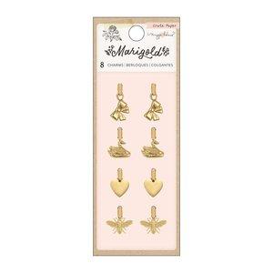 Charms de metal dorado Marigold by Maggie Holmes