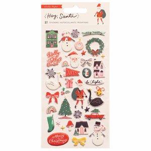 Pegatinas Puffy Hey Santa