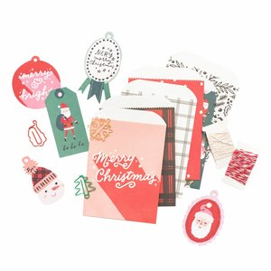 Set de adornos variados Hey Santa