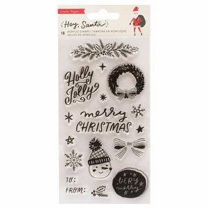 Set de sellos Hey Santa