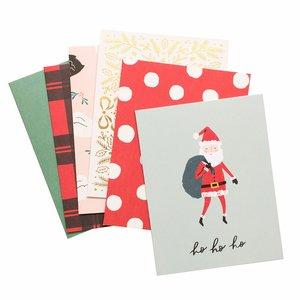 Set de tarjetas y sobres Hey Santa
