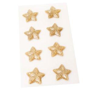 Estrellas de resina con purpurina Busy Sidewalks de Crate Paper