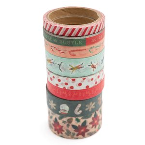 Set de washi tapes Busy Sidewalks de Crate Paper