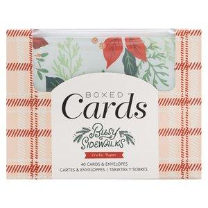 Set de tarjetas con sobres Busy Sidewalks de Crate Paper