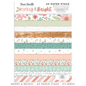 """Stack 6x8"""" Cocoa Vanilla Merry & Bright"""