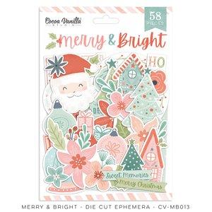 Die Cuts Cocoa Vanilla Merry & Bright