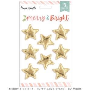 Estrellas puffy Cocoa Vanilla Merry & Bright