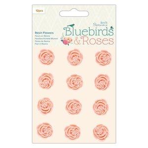 Rosas de resina Docrafts Bluebirds & Roses