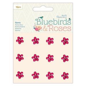 Gemas adhesivas Docrafts Bluebirds & Roses