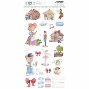 Chipboard 30x15 cm Artis Decor Y Fueron Felices