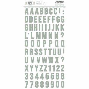 Alfabeto chipboard Artis Decor Mint