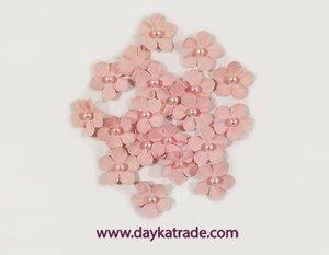 Dayka Set de Flores Rosa Vintage