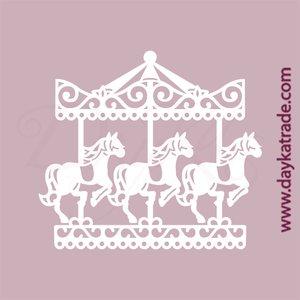 Dayka Set Carousel de chipboard