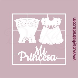 Dayka Set Vestidos Mi Princesa de chipboard