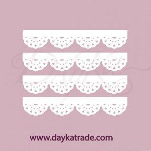 Dayka Set Cuatro Blondas de chipboard