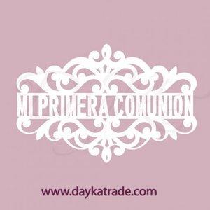Dayka Forma Mi Primera Comunión Pequeña de chipboard