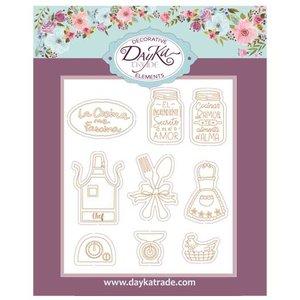 Dayka figuras de chipboard La Cocina me Fascina
