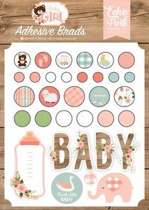 Brads adhesivos Baby Girl