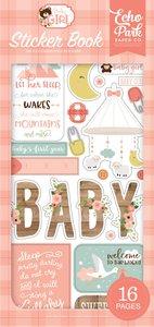 Libreto de pegatinas Baby Girl