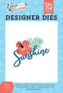 Troqueles Echo Park Dive into Summer Hibiscus Sunshine