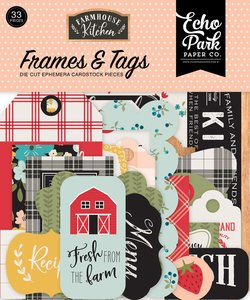 Die Cuts Frames & Tags Echo Park Farmhouse Kitchen