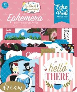 Die Cuts Echo Park Alice in Wonderland v2
