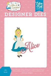 Troqueles Echo Park Alice in Wonderland v2 Alice