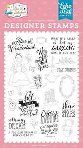 Sellos Echo Park Alice in Wonderland v2