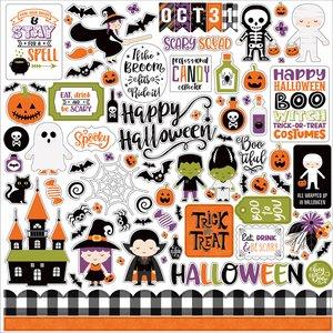"Pegatinas 12x12"" Echo Park I Love Halloween"