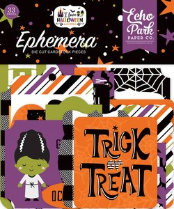 Die Cuts Echo Park I Love Halloween