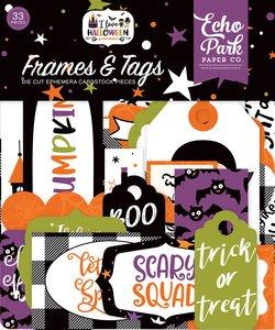 Die Cuts Frames & Tags Echo Park I Love Halloween