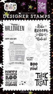 Sellos Echo Park I Love Halloween Boo to You