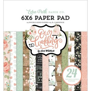 "Pad 6x6"" Echo Park Our Wedding"