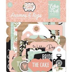 Die Cuts Frames & Tags Echo Park Our Wedding