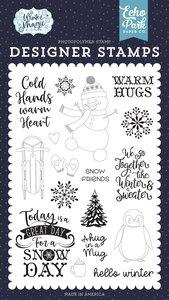 Sellos Echo Park Winter Magic Warm Hugs