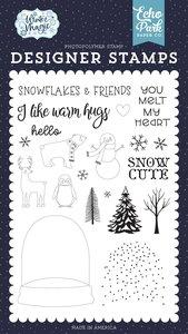 Sellos Echo Park Winter Magic You Melt my Heart