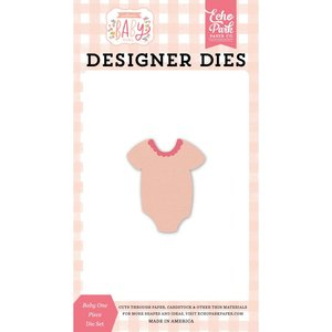 Troqueles Echo Park Welcome Baby Girl One Piece