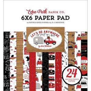 "Pad 6x6"" Echo Park Let's Go Anywhere"