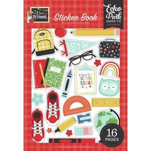 Libreto de pegatinas Echo Park I Love School