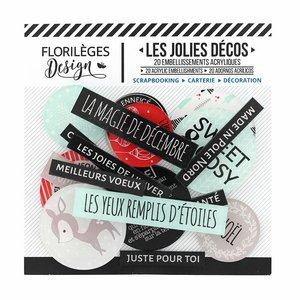 Adornos de metacrilato Florilèges Sweet & Cosy