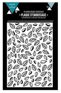 Carpeta de embossing Florilèges Feuilles Emmelees