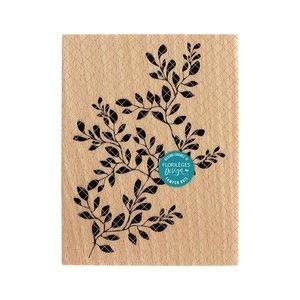 Sello de madera Florileges GRAND FEUILLAGE PARFAIT