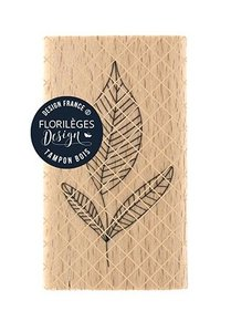 Sello de madera Florileges Or Saison TROIS FEUILLES